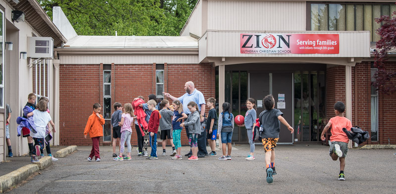 Zion Lutheran School Recess