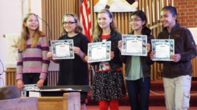 Honor roll students at Zion